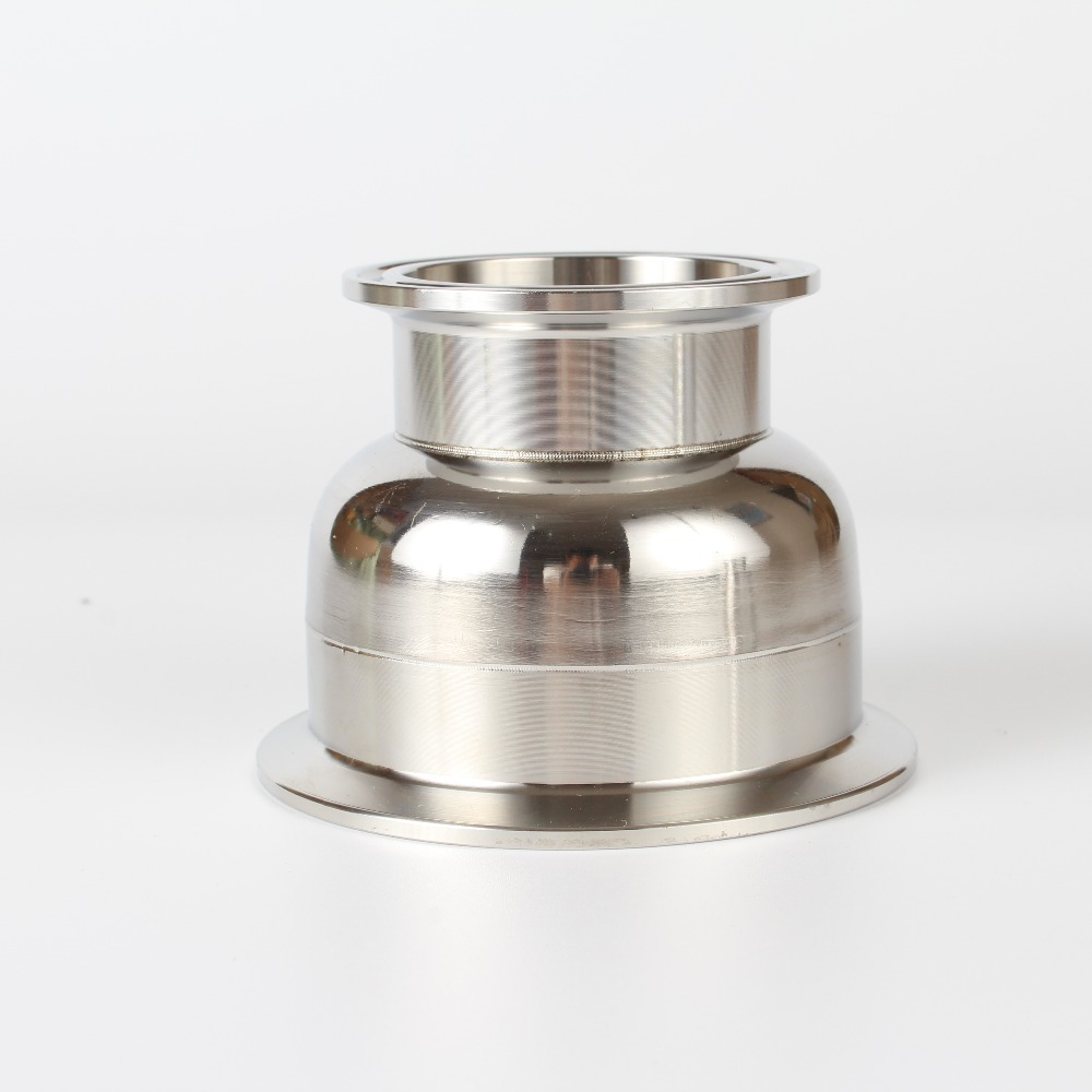 2(51mm)OD64 x 3 (76mm )OD91 Tri- Clamp Reducer SS 304 Stainless Steel