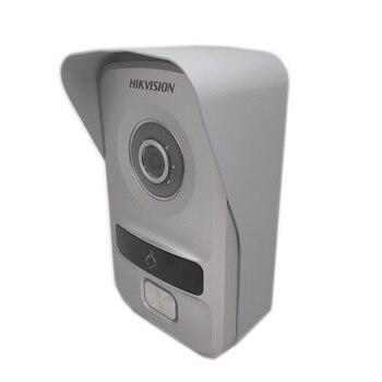 Hik HD multi-Language DS-KV8102-IP, IP intercom,IP doorbell waterproof, RFID card,IP wired intercom Video Intercom
