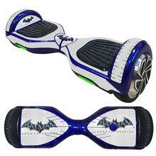 Водонепроницаемый полный охват кожи шаблон ХОВЕРБОРДА балансировки скутер скейтборд наклейки 6.5 Дюймов