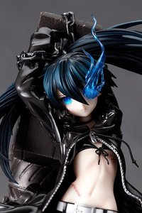 Высокое качество 29 см японский сексуальный аниме фигурка Черный Рок Шутер Темный Мику подростка ver. С пушкой