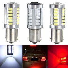 Lampada 1156 polo 21w 33 led smd samsung chip 5630/5730 6000k drl freio (branco/vermelho/amarelo)