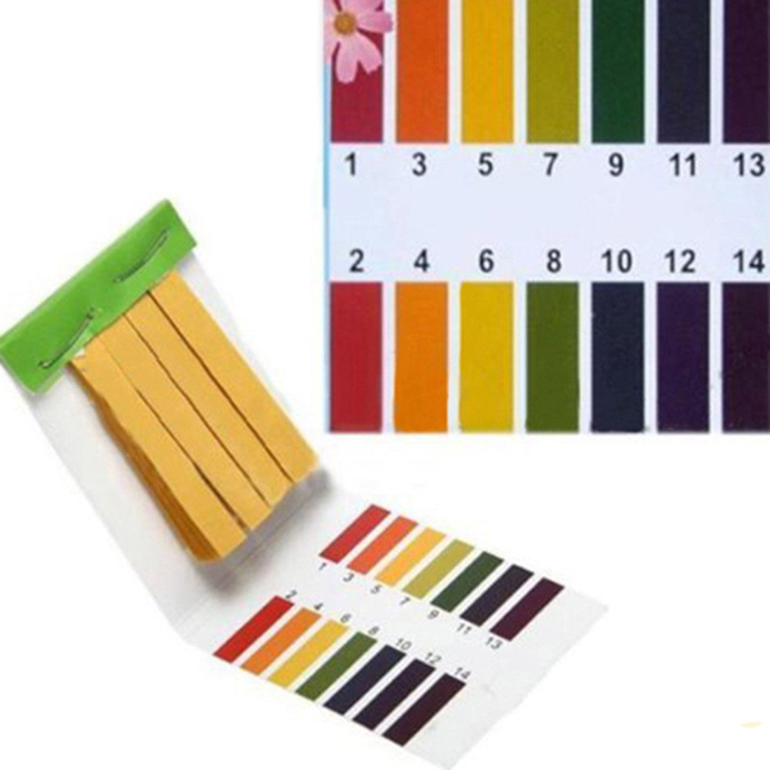 PH Litmus Paper 80 Strips PH Test Strip Aquarium Pond Water Testing Full Range Alkaline Acid 1-14 Test Paper Litmus Test gottlieb basic electronic test procedures 2ed paper only
