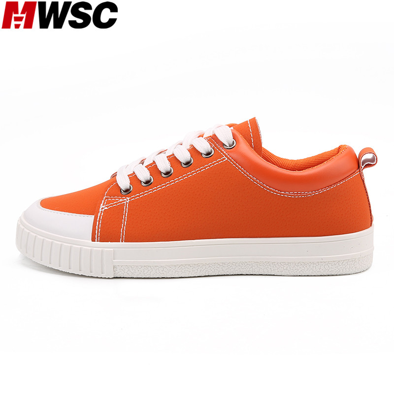 MWSC 2017 New Male Fashion Leather Casual Shoes Men's Lace Up Breathable Mixed Colors Shoes Man Leisure Footwear 2016 new autumn winter man casual shoes sport male leisure chaussure laced up basket shoes for adults black