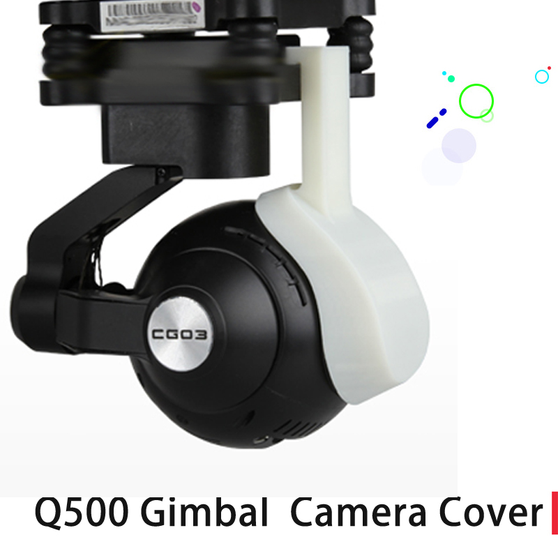 Gimbal Camera Protector 3D Printed Camera Cover Dust-proof Cover for YUNEEC Q500 yuneec q500 typhoon quadcopter handheld cgo steadygrip gimbal black
