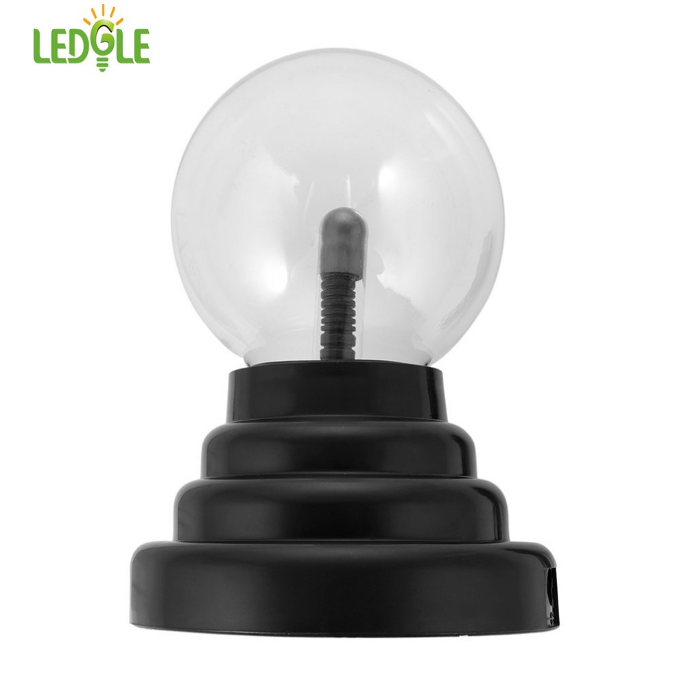LEDGLE Plasma Ball Light Decorative Sphere Light Magical Crystal Lamp Creative Desk Lamp For Indoor Lighting