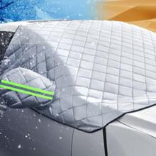 Car styling Car Covers Windscreen Cover Heat Sun Shade Anti Snow Frost Ice Shield Dust Protector Winter(China)