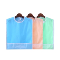 Waterproof Adult Bibs Clothing Spill Long Length 2 Pack