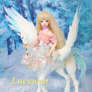 Image 2 - Fairyland Fairyline Lucywen BJD куклы 1/4 Minifee Centaur модная Фантастическая Женская лошадь полный комплект вариант alieendol Iplehouse