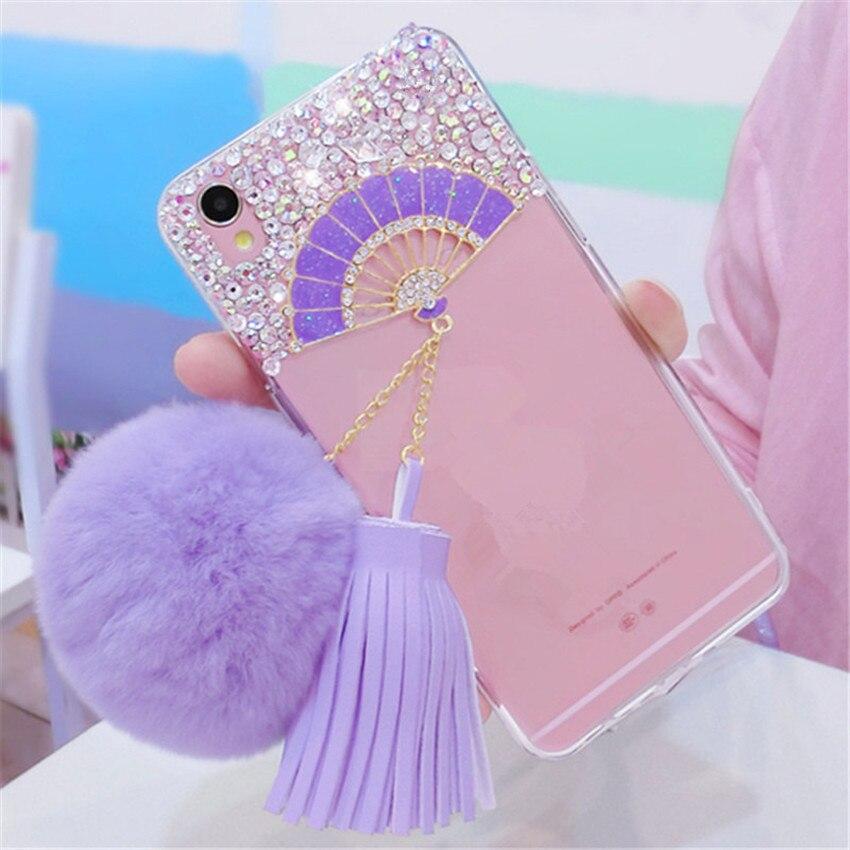 For-Samsung-J3-J5-J7-Prime-2016-2017-Pro-Glitter-Bling-Fan-Rhinestone-Phone-Case-Soft (3) -