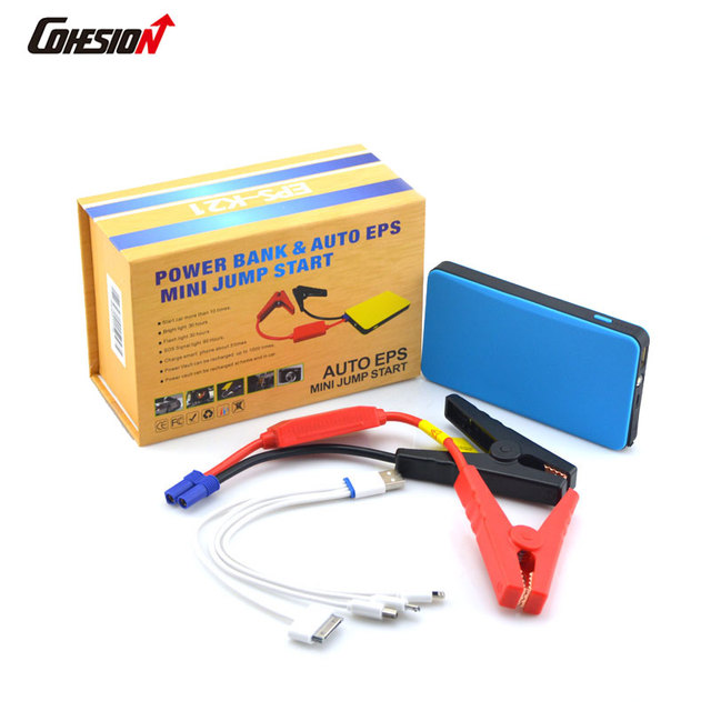 Car Jump Starter Discount 6000mAh Mini Emergency Charger Battery Booster Power Bank Min Jump Starter for Car,Mobile,Ipad,Camera