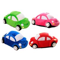 1pc 35cm Children Car Model Plush Toy Creative Cartoon Doll For Kids Baby Boy Nice Gift