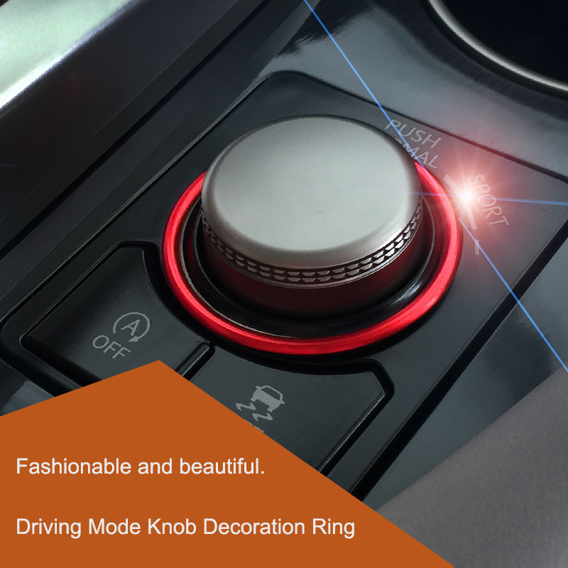 QHCP Car Drive Mode Switch Knob Ring Cover Button Trim Alloy Decorative Sticker Accessories For Lexus NX200 300H RX300 200T 450H