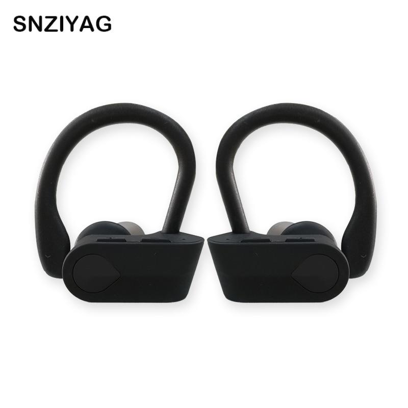 SNZIYAG TWS Wireless Binaural Bluetooth Earphone Ear-hook headphones  Sports Bluetooth Headset With mic For All Smart phone