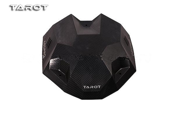 F10950 Tarot 680PRO Carbon Fiber Pattern Canopy Hood Head Cover TL2851