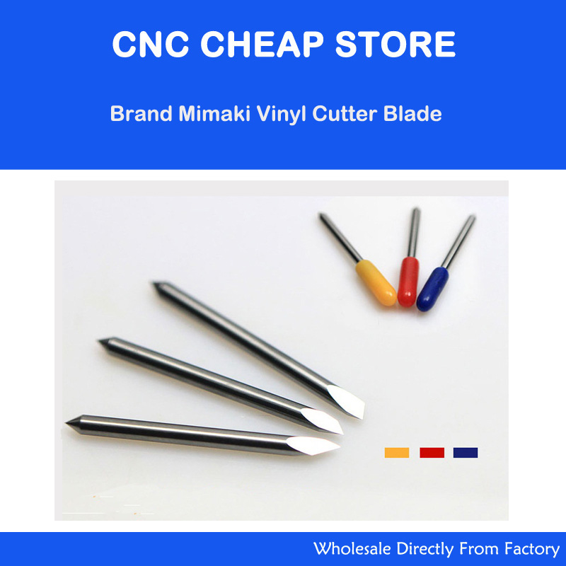 New 15 pcs 45/30/60 degree Mimaki blades cutting plotter Blade vinyl cutter Blade Knife 1x cb09 graphtec blade holder 1x60 degree 2x45 degree 2x30 blades for vinyl plotter cutter 19mm