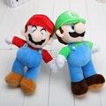 Super Mario Luigi Plush Toy Doll 25 cm 10 pulgadas highquality de bebé de juguete Super Mario juguetes de peluche