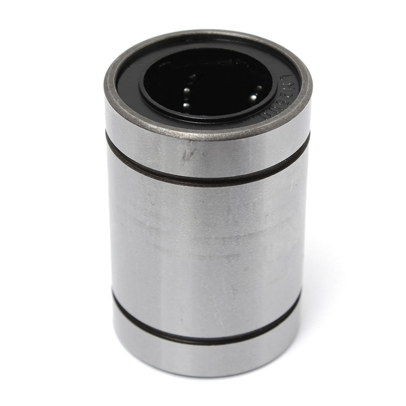 MTGATHER HOT LM25UU 25mm Linear Ball Bearing Bush Bushing Steel 25x40x59mm 6 Ball Rows Industry Parts 1pc scv40 scv40uu sc40vuu 40mm linear bearing bush bushing sc40vuu with lm40uu bearing inside for cnc