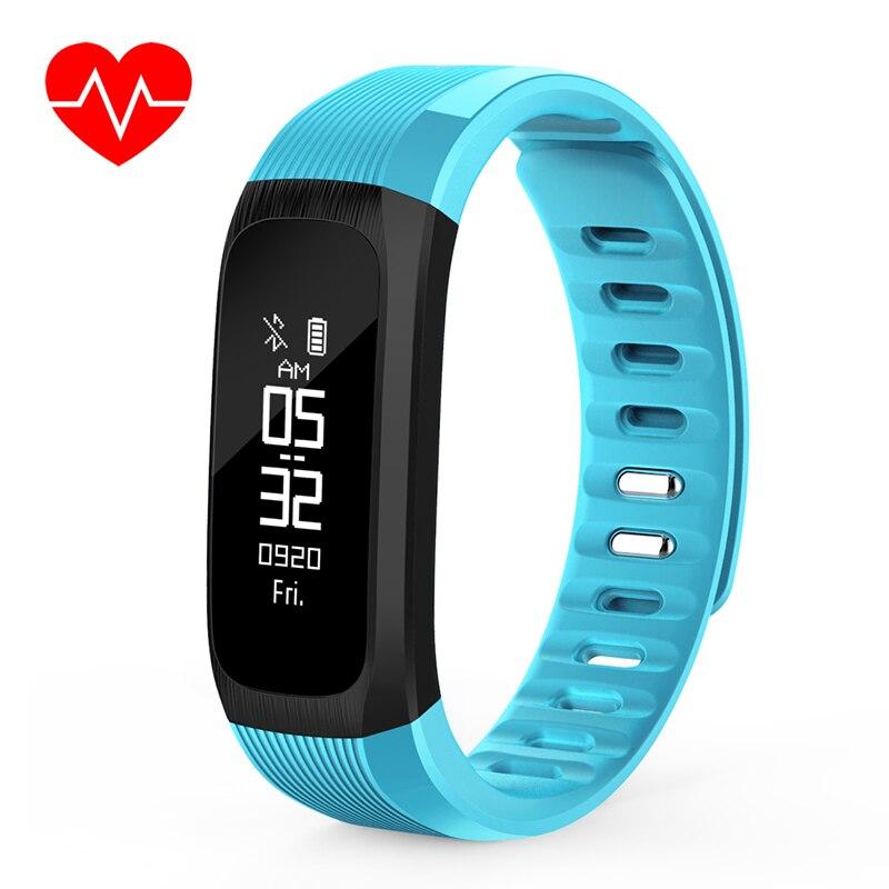 2019 nouveau moniteur de fréquence cardiaque de pression artérielle de bande intelligente Bracelet de suivi de forme physique Bracelet de contrôle de musique Bracelet intelligent Pro pour Android IOS