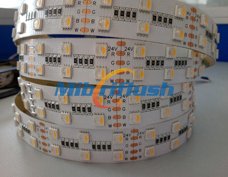 38W/M 24V 120leds/M LED Strip Light 5050 RGBNM RGBW RGBWW Diode Tape LED Lamp Home Holiday Decoration 20MM PCB Non Waterproof