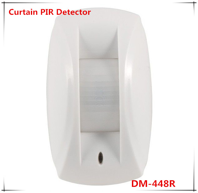 433Mhz/868Mhz Wireless Curtain PIR Motion sensor compatible with ST-VGT and ST-IIIB Alarm System new wireless glass break sensor with alarming sounds works with st vgt and st iiib alarm system
