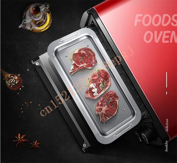 220 В AUX 9L многофункциональная электрическая духовка бытовой Хлеб Торт Пицца Бейкер машина автоматическая барбекю электрическая духовка