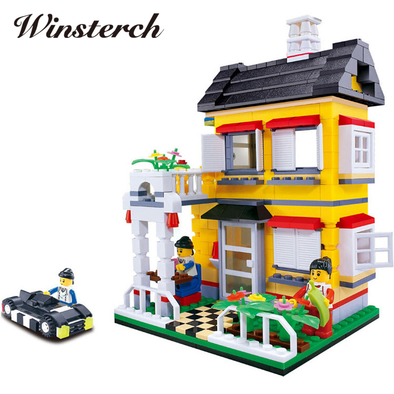 Magnetic Designer Life Building Blocks Plastic Models Assemble Enlighten Bricks Child Toys Compatible With Toy Kid Gift RT032 magnetic 77 82 89pcs magnetic kits building models toy with windmill car enlighten plastic educational for toddlers yoyo diy