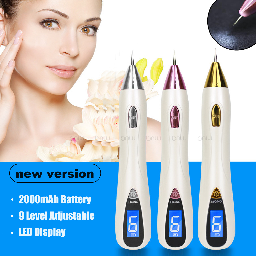 Image 3 - 9 Level LCD Plasma Pen LED lighting Laser tattoo/Mole Removal Machine Face Care skin Tag Removal Freckle Wart Dark Spot remover-in Face Skin Care Tools from Beauty & Health