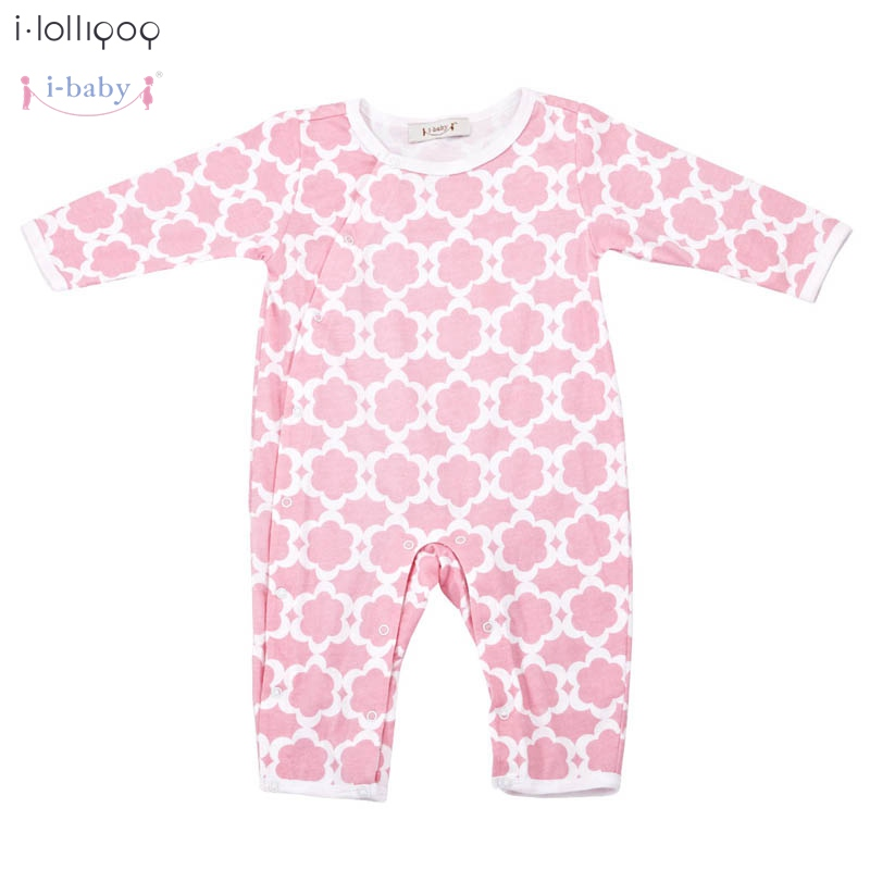 2017 Summer Newborn Infant Baby Romper Clothes Boy Girl Rompers 100% Cotton Long Sleeve Romper Jumpsuits Clothing Flower new arrival newborn baby boy clothes long sleeve baby boys girl romper cotton infant baby rompers jumpsuits baby clothing set