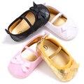 TongYouYuan Sapatas Das Meninas Da Princesa Do Bebê Anti-Slip Calçados Infantis Crianças Ballet Vestido Mary Jane Sapatos Doce Primeiros Sapatos Caminhantes