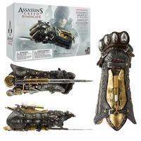 Assassins Creed Syndicate Gauntlet with Hidden Blade Avec Lame Secrete Weapons Action Figures PVC brinquedos Collection toys