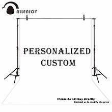 Allenjoy Customize Party Backdrop Personality Birthday photography backdrop photophone Banner DHL fast Shipping Link Supply