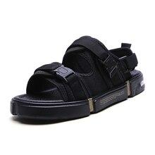 Men Air cushion style sandals outdoor shoes Garden Shoes Casual Flip Flops Comfortable Light Sandalias Hombre Gladiators