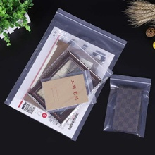 Multi Size 100Pcs Transparent OPP Poly Bags Self Adhesive Plastic Bag Seal Bags&Candy