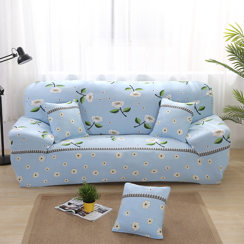Elastic Sofa Slipcovers Flower Printed Couch Seat Covers Protector for Living Room Office Home Furniture Decoration Gifts