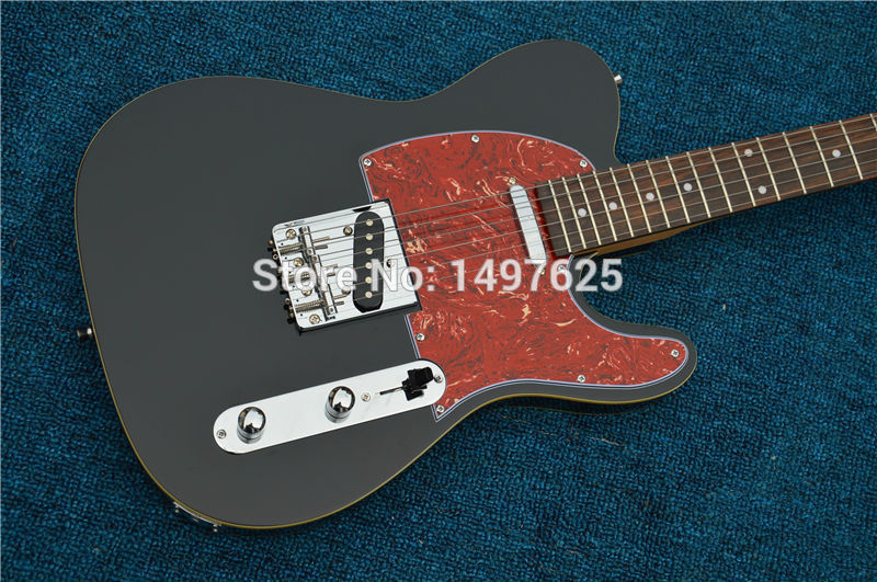 Free shipping Wholesale new tl custom shop electric guitar/black color /oem guitar/guitar in china купить