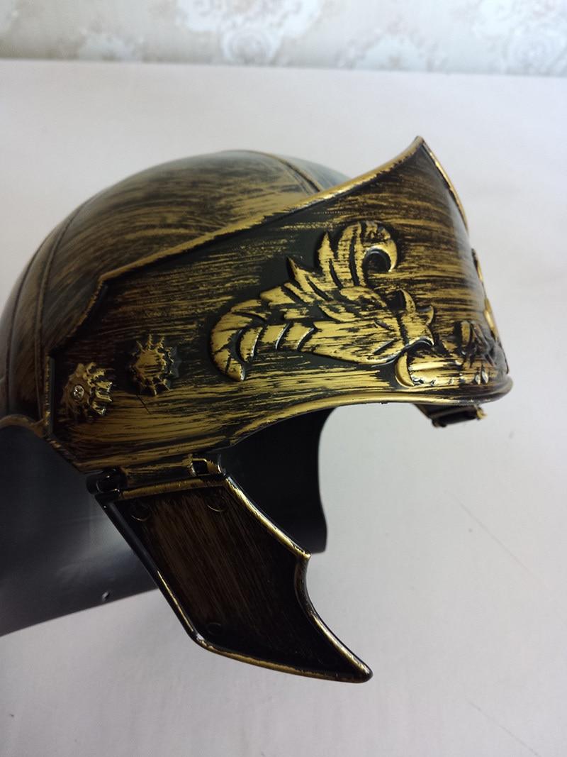 aliexpress com buy plastic cosplay masquerade roman hat spartan