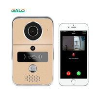 wifi intercom system IP video door phone wireless wifi door bell with HD camera call to android/ios phone/tablet