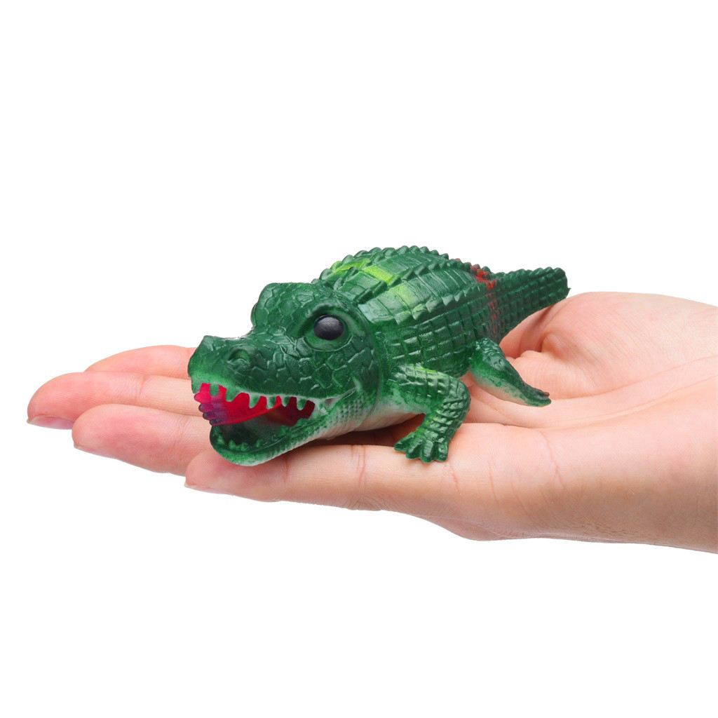 Crocodile Pops Out Leg if Squeeze 14cm Stress Relief Funny Toys 20