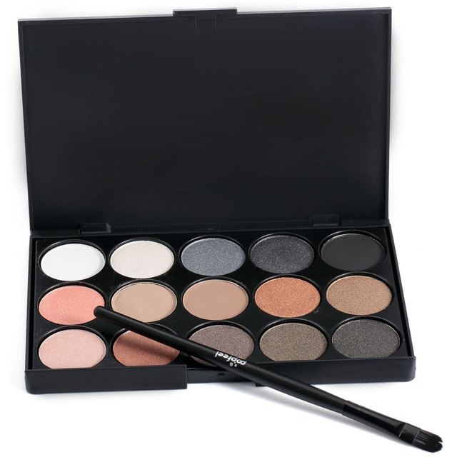 Long Lasting 15 Color Eye Shadow Palette Makeup for Shemales & Crossdressers