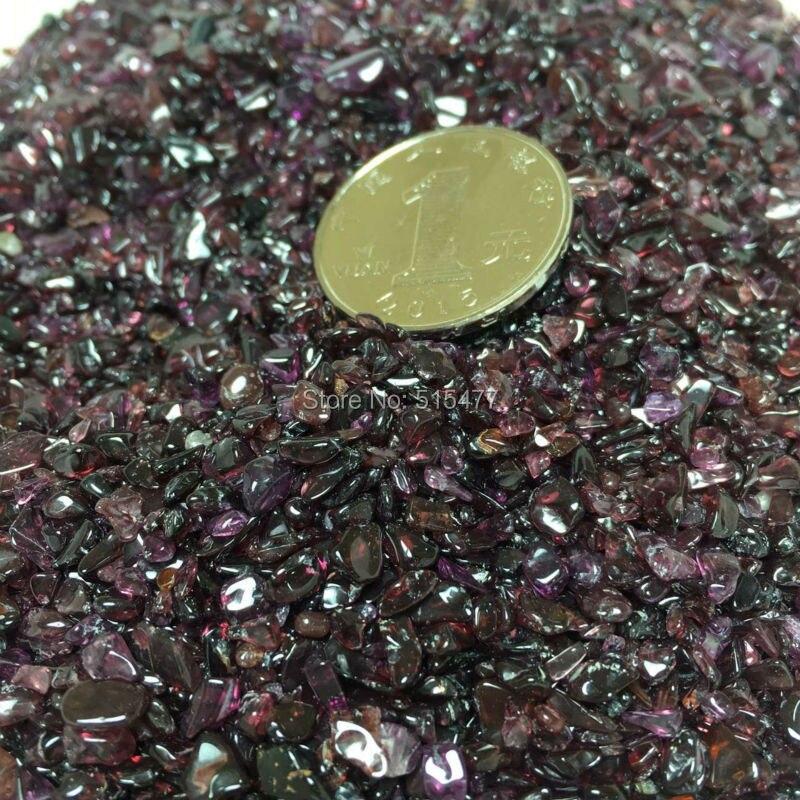 1000g naturel charmant rouge grenat pierre gravier dégringolé pierre cristal aimant de guérison spécimens minéraux livraison gratuite - 5
