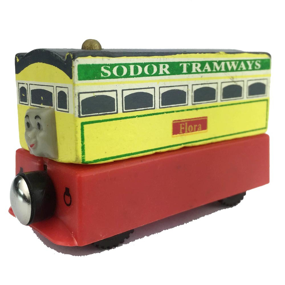 Thomas And Friends Flora Excellent Wooden Train Model Kids