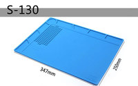250 347 4mm Heat Insulation Silicone Pad Desk Mat Maintenance Platform For BGA Soldering Repair Station