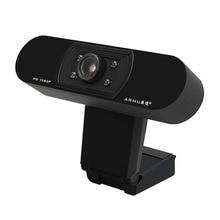 1080P USB2.0 веб-камера с широкой совместимостью, автоматическая фокусировка, веб-камера для компьютера, ноутбука, с микрофоном для шумоподавления