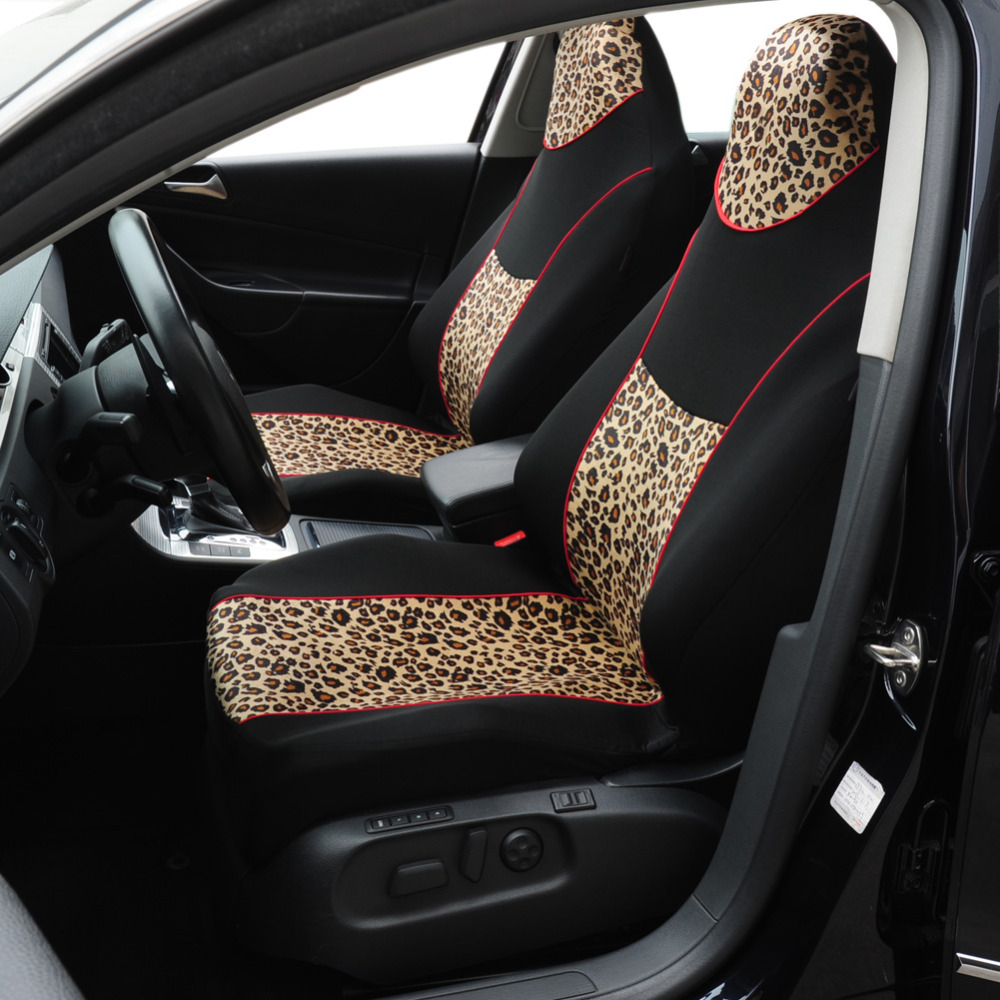 Tremendous Us 9 35 48 Off Autoyouth 1Pcs Leopard Animal Print Integrated High Back Bucket Seat Cover Universal Fit Most Car Seat Cover Interior Accessorie In Short Links Chair Design For Home Short Linksinfo