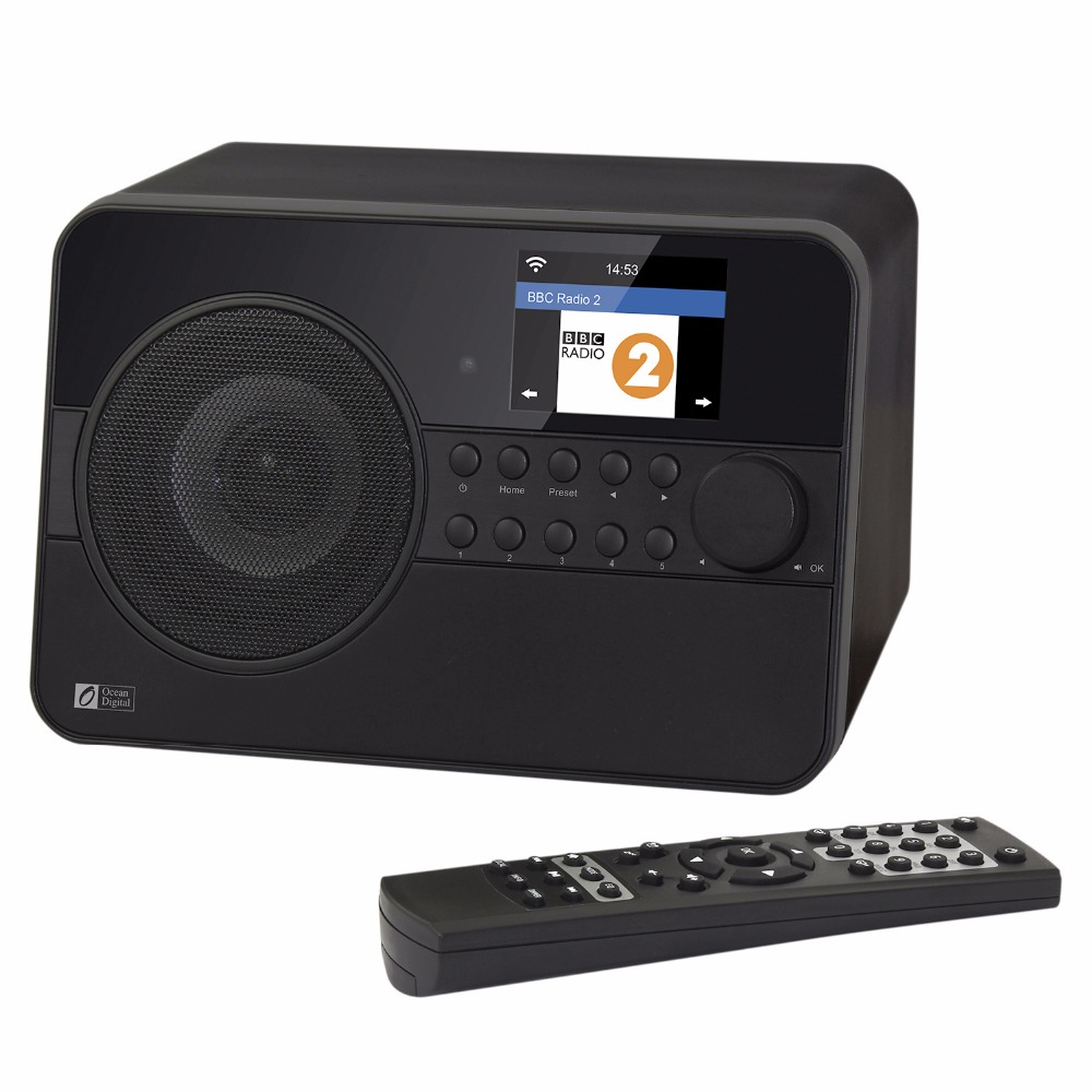 Ocean WR-238 Digitale Radio Internet Senza Fili WiFi Bluetooth Intelligente Nube Radio