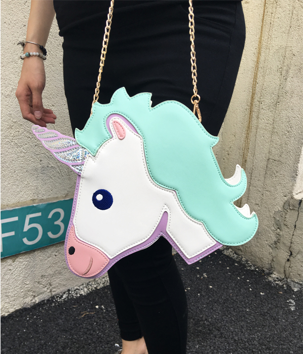 HTB1cnnXRXXXXXb.XXXXq6xXFXXXB - Unicorn Handbag women Shoulder Bag Cute
