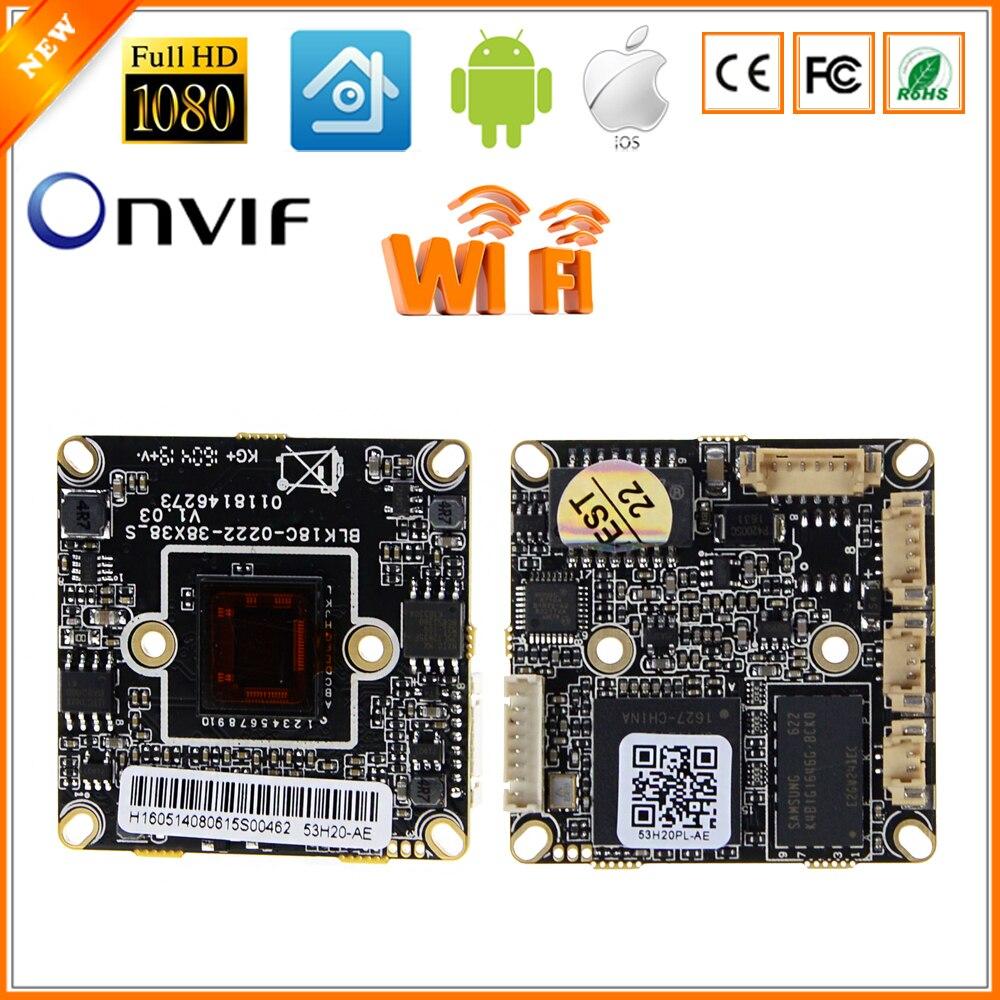 bilder für Besder full hd 1080 p ip-kamera brett wifi audio hi3516c + 1/2. 8 ''sony imx322 sensor onvif p2p xmeye cctv bord