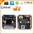 Besder junta wifi audio full hd 1080 p cámara ip hi3516c + 1/2. 8 ''sony imx322 sensor onvif p2p xmeye del tablero del cctv