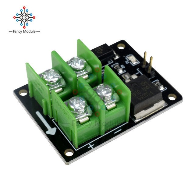 3V 5V Low Control High Voltage 12V 24V 36V Switch Mosfet Module For Arduino Connect IO MCU PWM Control Motor Speed 22A