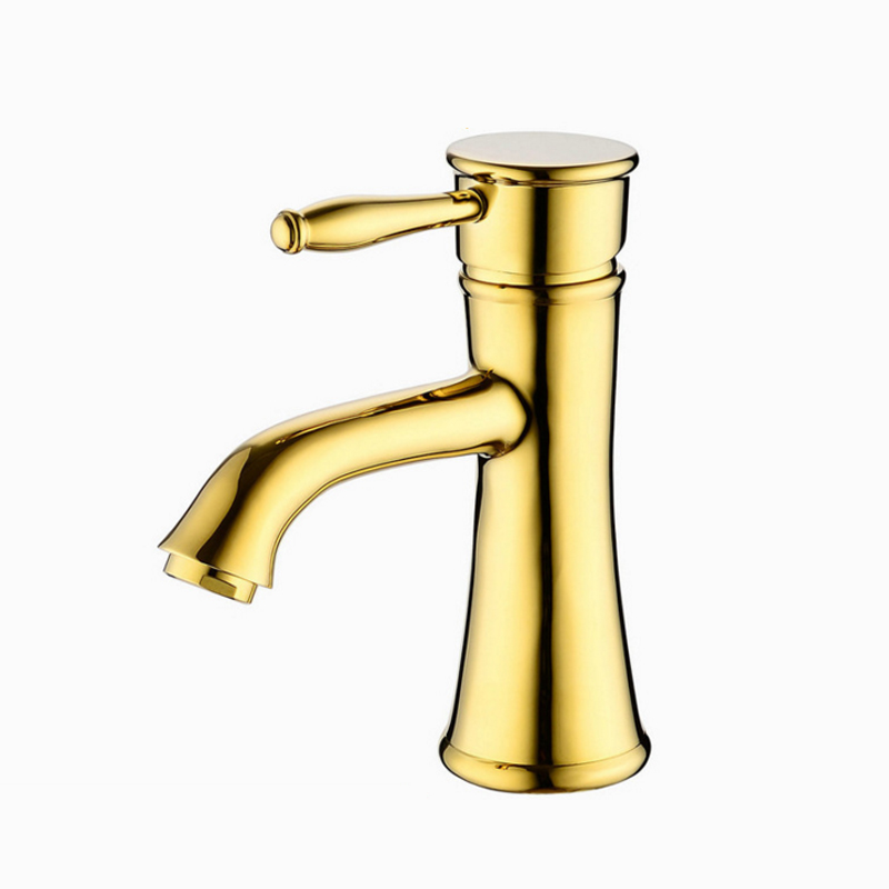 Chrome Bathroom Faucet Deck Mounted Antique Single Handle Hot and Cold Water Save Mixer Basin Polished Gold Brass Bath Room Taps ideal lux садово парковый светильник ideal lux cima pt2